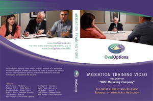 oval options mark loye mediation training video